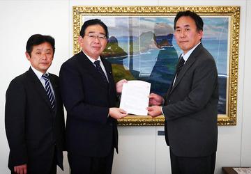 日本原電へ確認書提出
