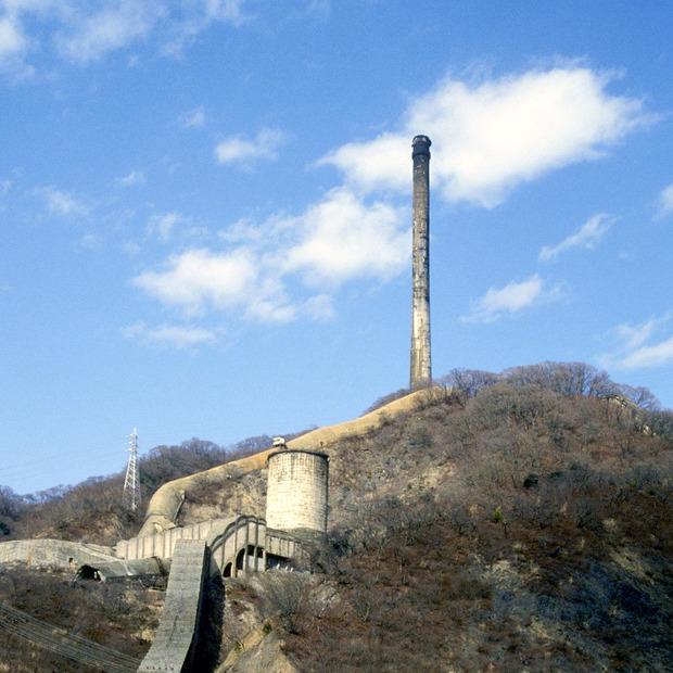ある町の高い煙突(日本鉱業の大煙突)