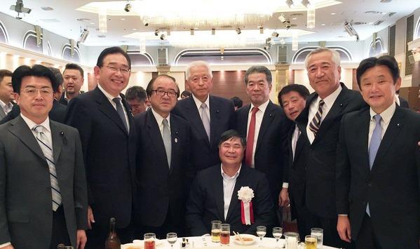 駐日ベトナム特命全権大使ドァン・スァン・フン閣下歓送会