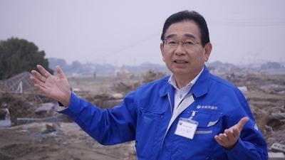 関東東北豪雨被害の現場で井手よしひろ県議