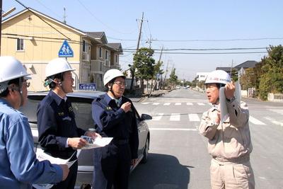 2011年3月19日:日の出地区の現地調査