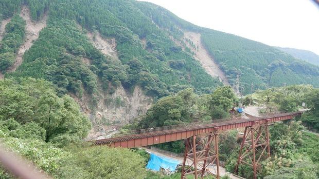 熊本地震調査:南阿蘇村立野地区