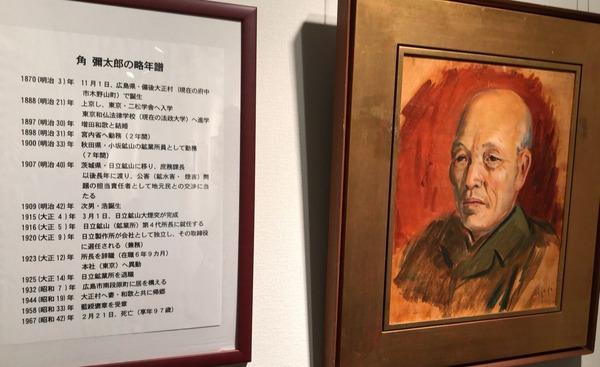 角弥太郎の肖像