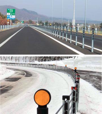 高速道路の防護ワイヤーロープ
