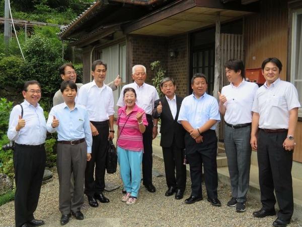 徳島県上勝町の彩農家を訪問
