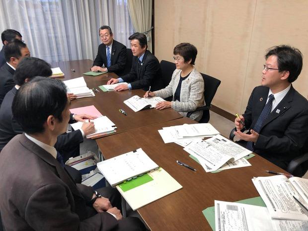 県議会公明党への予算内示