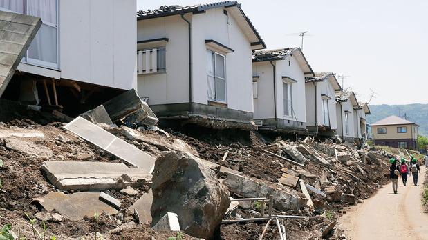 益城町の被災状況