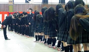 県立多賀高校卒業式より