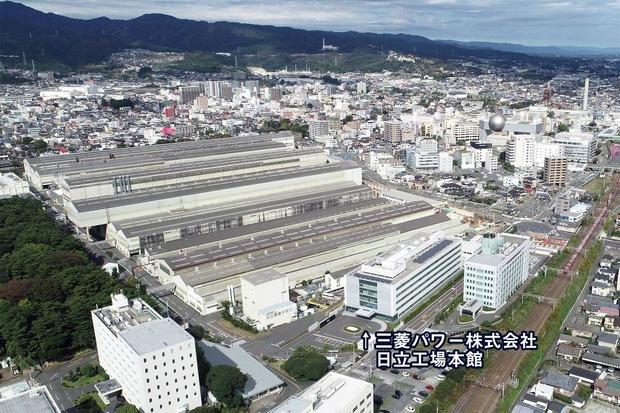 三菱パワー日立工場空撮