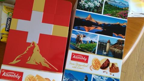 スイスのお菓子
