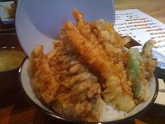 魚吉三天丼 5
