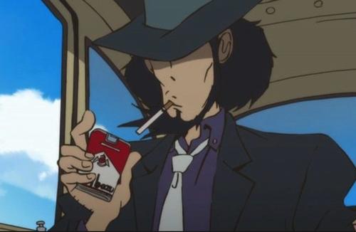 喫煙とアニメ