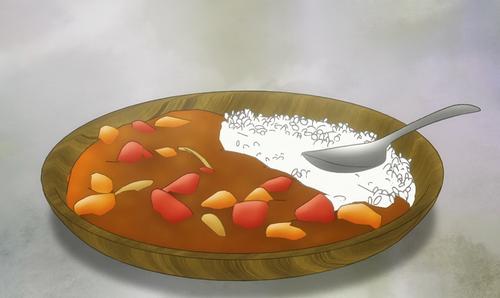 パチンコグルメのカレーライス