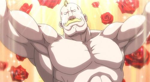 男らしい筋肉