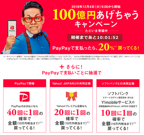 paypayペイペイ当選者