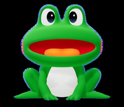 山佐のカエル