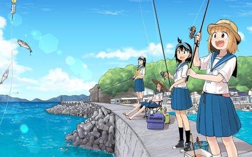 初心者が海釣りに来てみたよ(´・ω・`)