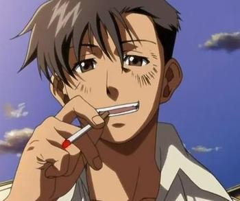 煙草とアイコス
