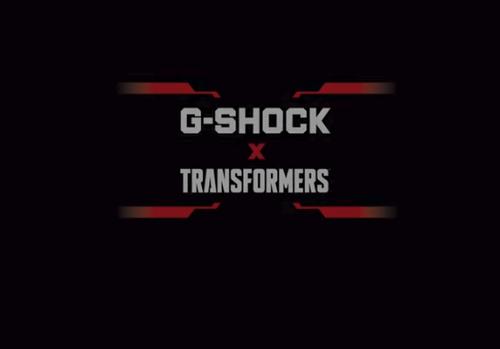 Gショックとトランスフォーマーのコラボ
