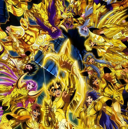 黄金聖闘士に関連する画像