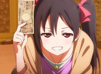 ラブライブの矢澤にこってギャンブル漫画の主人公ぽくね?