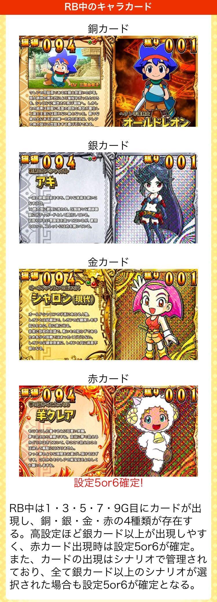 クレア2金カード