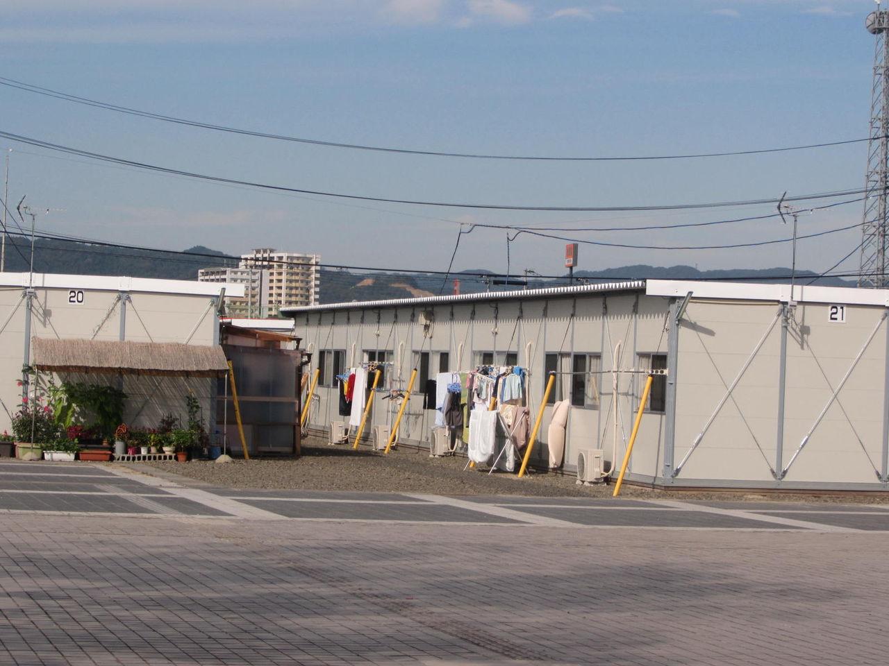 どんづまり温泉 : 岩沼市「里の杜仮設住宅」での炊き出し(芋煮)