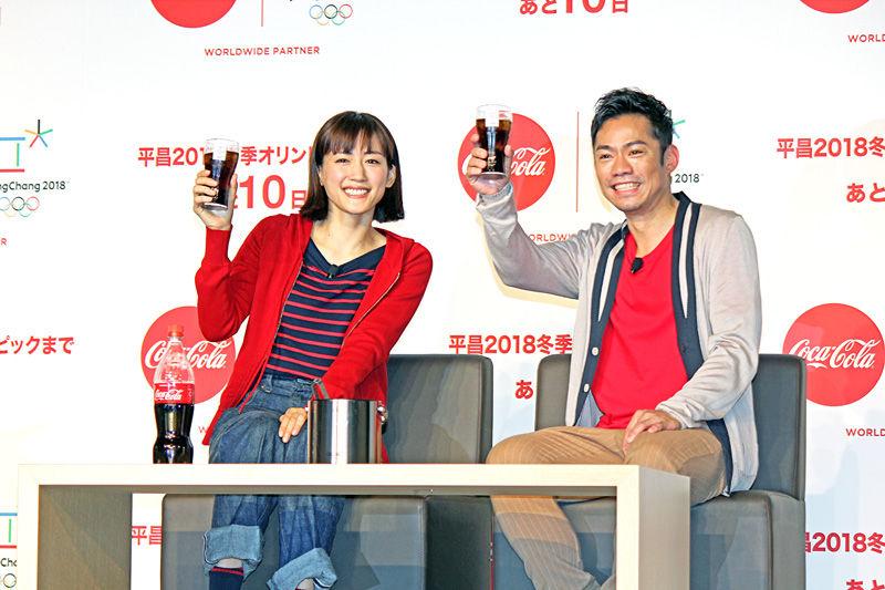 【話題】〈綾瀬はるか〉フィギュアスケート衣装が美しい!高橋大輔とコカ・コーラCM共演