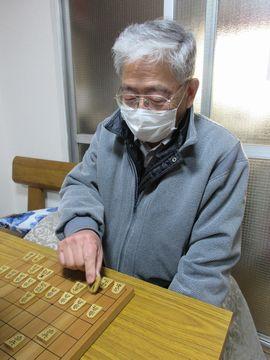 �5度目の優勝を飾った浜崎孝初段(50)