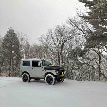 雲ケ畑 前田木材 雪