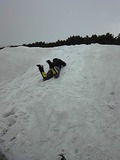 160604_1435時間が早いので雪上訓練