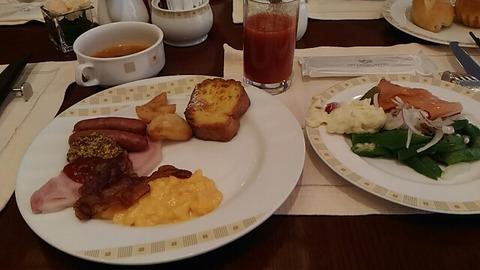 帝国ホテルのモーニングビュッフェを食べてみました