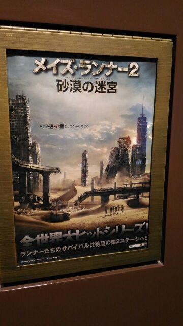 【1分で読める映画感想】メイズランナー2 砂漠の迷宮