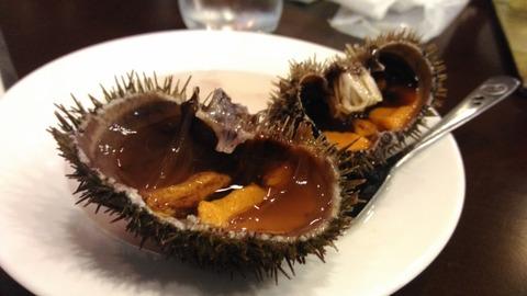 鮮度抜群のウニを腹いっぱい味わえる旅館に行ってきた。