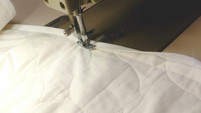 パイピング縫製