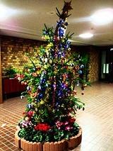 マンションのクリスマスツリー2