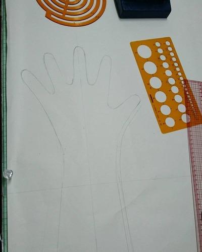 手袋パターン