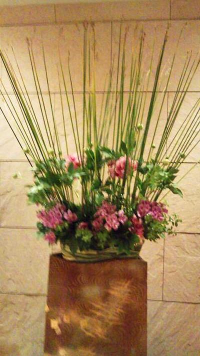 ホテル ラフォーレの花