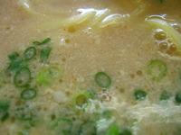 味の豊 ラーメンのスープ
