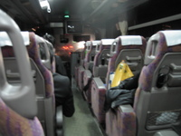 高速バス福岡シティライナーバス車内