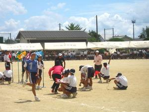 2011年姶良市立帖佐中学校体育祭
