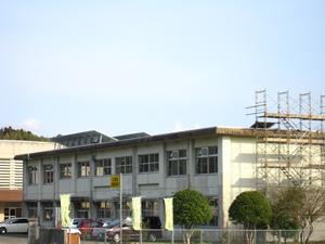 姶良市立山田中学校校舎