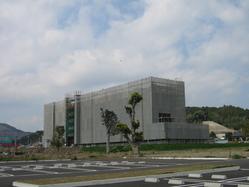 青雲病院駐車場から見たサザンブルー鹿児島
