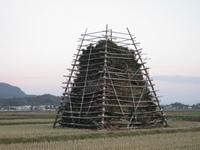 2010年ジャンボ鬼火焚き櫓 1月3日左側