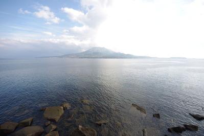 2013年元旦桜島