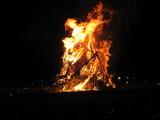 姶良ジャンボ鬼火焚き