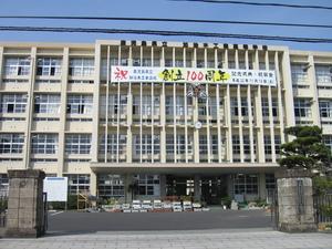鹿児島県立加治木工業高等学校正門