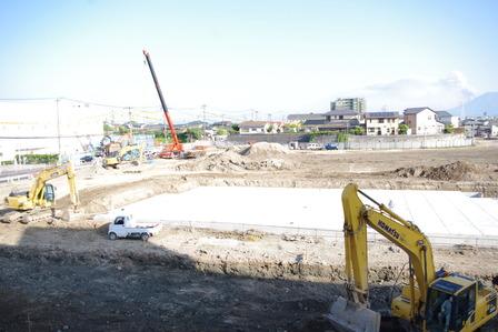 2015年4月23日イオンタウン姶良建設現場