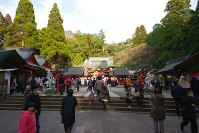 霧島神宮社殿全景