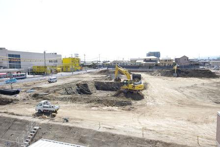 2015年3月13日イオンタウン姶良建設現場